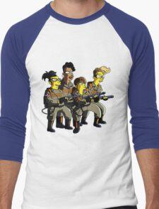 GHOSTBUSTER Men's Baseball ¾ T-Shirt