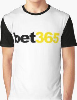 Bet365 Sports Gambling Book Soccer Graphic T-Shirt