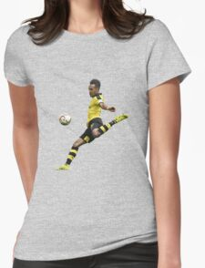 Pierre Emerick Aubameyang - Shooting Womens Fitted T-Shirt