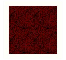 CS:GO - Crimson Web Art Print