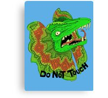 DO NOT TOUCH Canvas Print