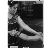 A Friendly Massage iPad Case/Skin