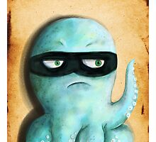 Inky the Octopus Photographic Print