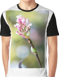 Winter Pink Graphic T-Shirt