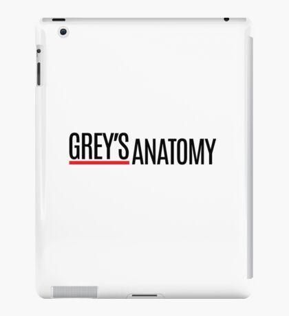 Greys Anatomy iPad Case/Skin