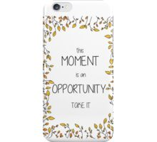 Opportunity iPhone Case/Skin
