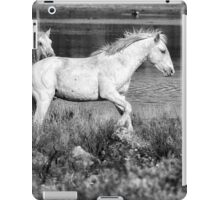 Two of a Kind BW iPad Case/Skin