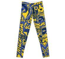 University of Michigan collage Leggings
