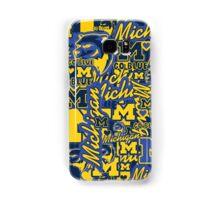University of Michigan collage Samsung Galaxy Case/Skin