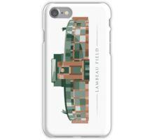 Green Bay Packers   Lambeau Field   Polygonal Illustration iPhone Case/Skin