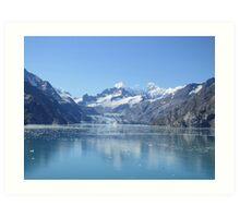 Alaska Glaciers Art Print