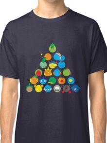 Pokemon Starter Pyramid Classic T-Shirt