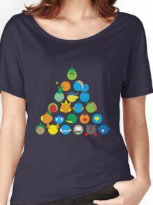 Pokemon Starter Pyramid Women's Relaxed Fit T-Shirt