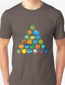 Pokemon Starter Pyramid Unisex T-Shirt