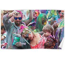 HOLI Color Festival, Family Style! Poster