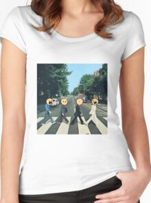 Cyanide and Happiness Beetles Women's Fitted Scoop T-Shirt