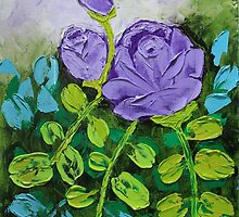 Purple Roses by bevy111