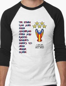 Barcelona 2015 Champions League Final Winners Men's Baseball ¾ T-Shirt
