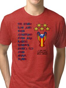 Barcelona 2015 Champions League Final Winners Tri-blend T-Shirt
