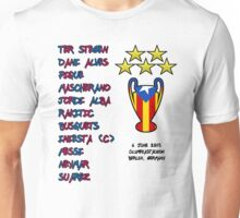 Barcelona 2015 Champions League Final Winners Unisex T-Shirt