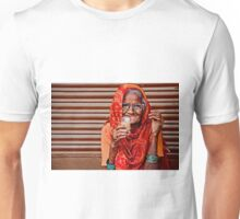 A Lady and her Chai Unisex T-Shirt