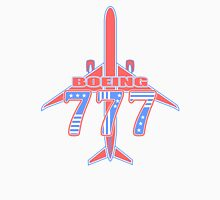 Red and Blue 777 Unisex T-Shirt