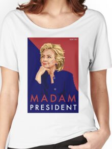 Hillary Illustration Women's Relaxed Fit T-Shirt