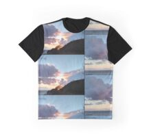 Sunset Over Aberystwyth Graphic T-Shirt