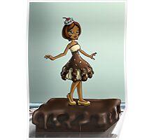 Sweet Chocolate Sundae Zenobia Poster