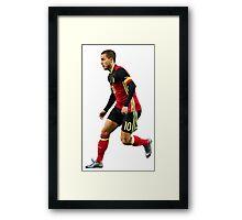 Eden Hazard - Belgium Framed Print