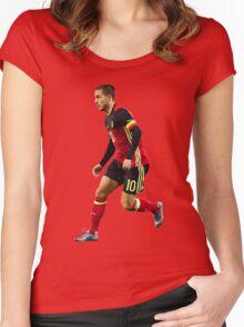 Eden Hazard - Belgium Women's Fitted Scoop T-Shirt