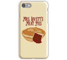 Mrs. Lovett's Meat Pies iPhone Case/Skin