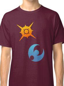 Pokemon Sun and Moon Symbols Classic T-Shirt