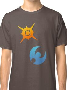 Pokemon Sun and Moon Symbols Classic T-Shirt