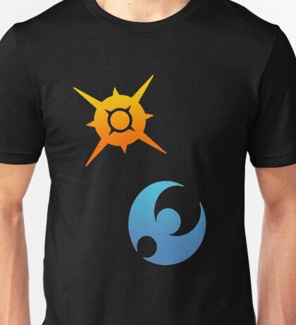Pokemon Sun and Moon Symbols Unisex T-Shirt