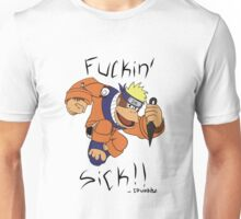 Donkey kong....and naruto THAT WOULD BE F***IN SICK Unisex T-Shirt