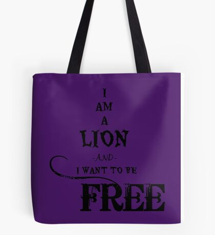 I Am A Lion  Tote Bag