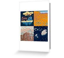 DreamTime Greeting Card