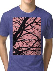 Bold Pink Tree Tri-blend T-Shirt