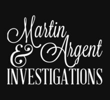 Martin & Argent Investigations v2 Baby Tee