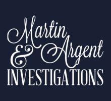Martin & Argent Investigations v2 Kids Tee