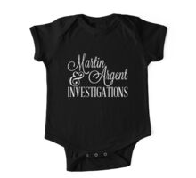 Martin & Argent Investigations v2 One Piece - Short Sleeve
