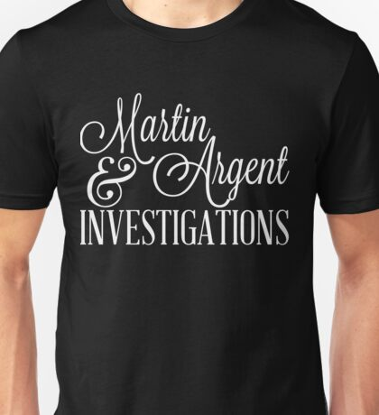 Martin & Argent Investigations v2 Unisex T-Shirt