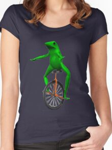Dat Boi (High Resolution) Women's Fitted Scoop T-Shirt