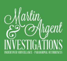 Martin & Argent Investigations One Piece - Short Sleeve