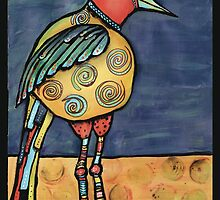 Lolly legged bird by Jenny Wood