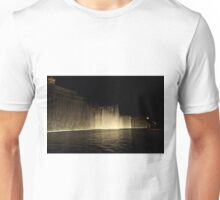 Foutains of Bellagio at Night Unisex T-Shirt