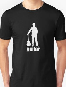 Guitar Music Band logo Unisex T-Shirt