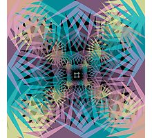 Tropical Infinity Mirror Photographic Print