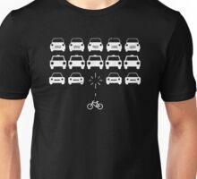 Bike Invaders Cycling Slogan Unisex T-Shirt